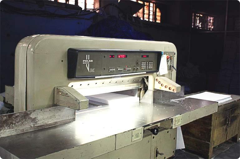 Cutting Machines Size 42″ Automatic, Premier Printing Press, Jaipur